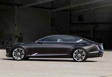 20182019 Cadillac Escala Concept  Predvesnik New Sedan