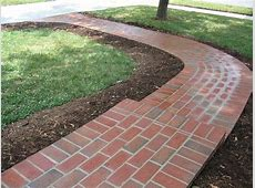 Ideas For Brick Sidewalk Design #25123