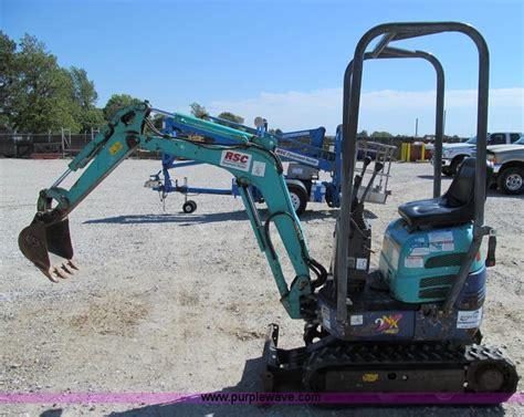 ihi nx mini excavator  kirksville mo item  sold purple wave
