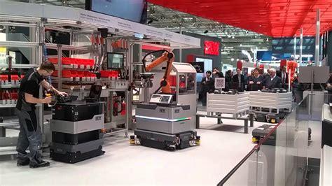 schwerindustrie hannover messe sew eurodrive sew eurodrive zeigt schaufensterfabrik industrie 4 0 auf