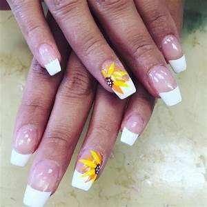 Sunflower nail art designs ideas design trends
