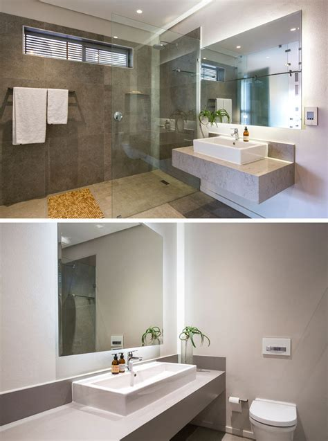 Modern Bathroom Mirrors South Africa by This House In South Africa Was Designed Around An Indoor