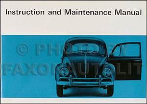 1967 Volkswagen Bug Beetle Owner U0026 39 S Manual Original Vw