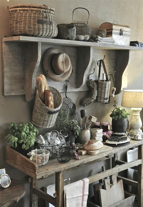 Featuring an antique sifter, creamer jug and farm fresh eggs, this rustic print will have you in the mood to whip up a sweet treat any time! 8 Beautiful Rustic Country Farmhouse Decor Ideas - shoproomideas