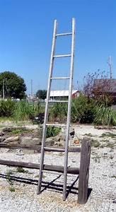Old, Rustic, Vintage, 7, Rung, Wood, Ladder