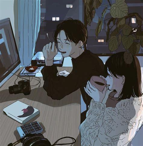 anime couples aesthetic