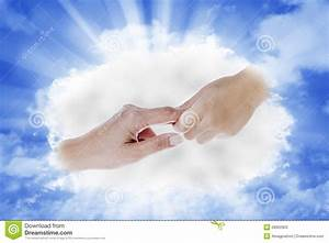 Hand From Heaven Stock Photos - Image: 28902903