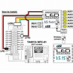 Ob1 V3 1mfc  V3 1s Led System For Tractor Truck  Semi