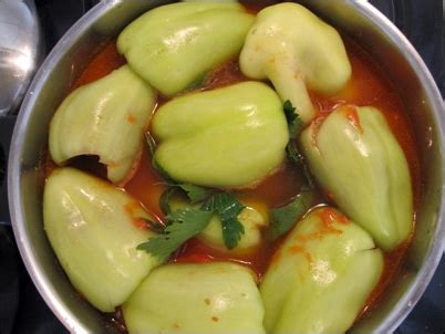 cuisiner poivron poivrons farcis punjene paprike recette pas à pas avec