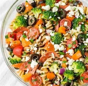 Assiette Pour Pates : la salade de p tes l 39 italienne la mozzarella aux ~ Teatrodelosmanantiales.com Idées de Décoration