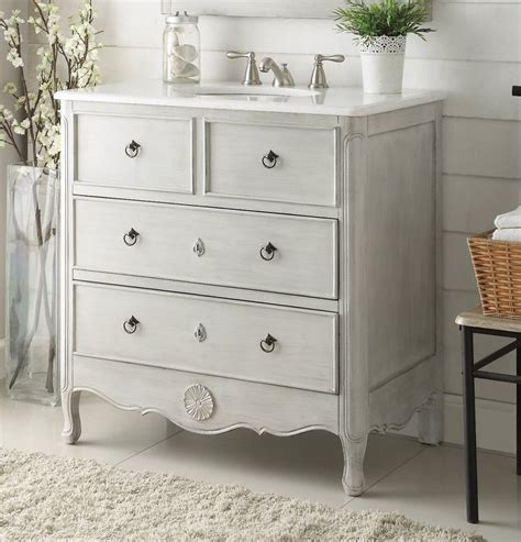 34 inch vanities for bathrooms chans furniture hf081ck daleville 34 inch distressed grey