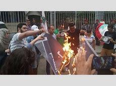 'Burn Isis Flag Challenge' Goes Viral in Arab World