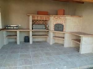 fabricant de cuisine d exterieur With cuisine d ete en pierre reconstituee