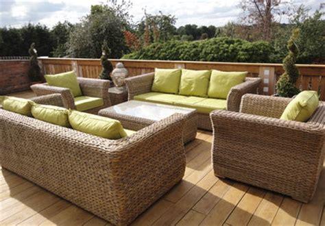 outdoor garden furniture rattan metal and wooden showroom
