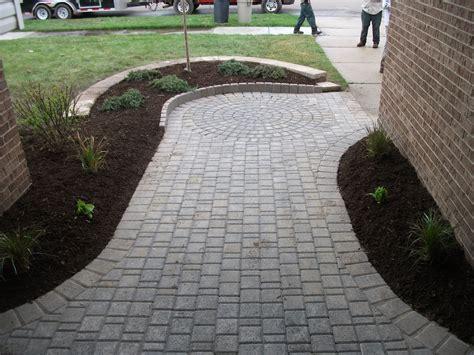 brick paver patio brick patio total lawn care inc lawn maintenance