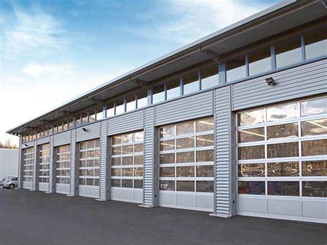 Portone Sezionale by Portone Sezionale Industriale Breda Alu Line Luxor