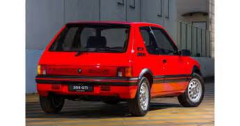Peugeot Watches by Cars To Peugeot 205 Gti