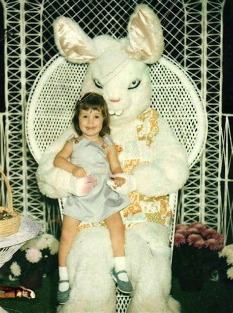 creepy  disturbing vintage easter bunny
