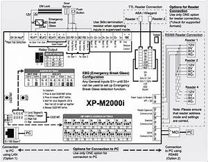 Wiring Connection Diagram For Xp-m2000i