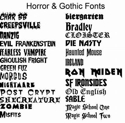 Fonts Font Lettering Tattoo Styles Tattoos Horror