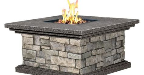 gas fire pits outdoor costco fire pit  gallery firepits garden furniture pinterest