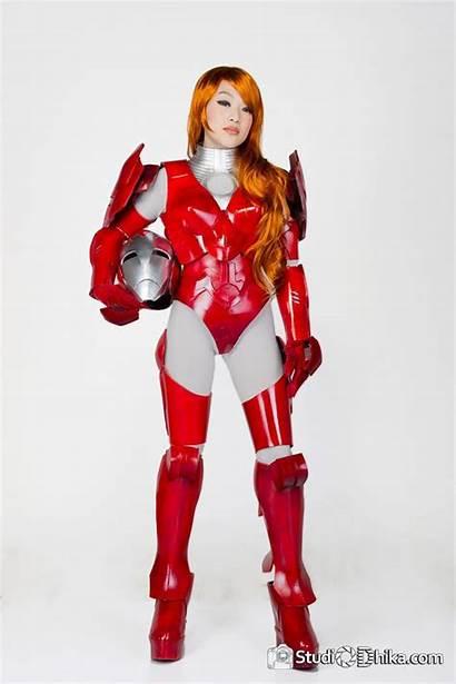 Iron Cosplay Linda Le Pepper Potts Female