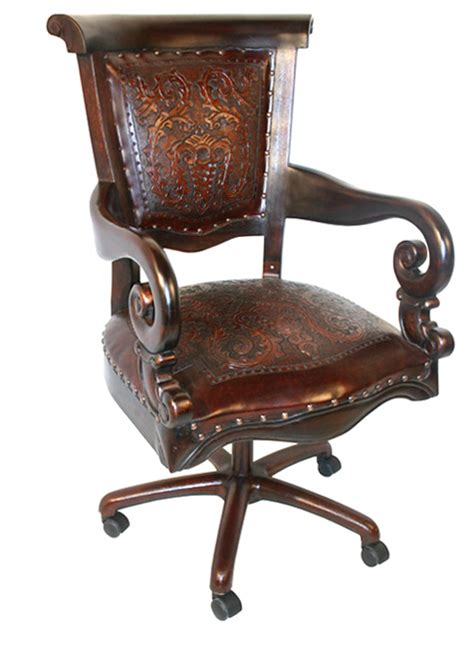 leather desk chair dining chairs