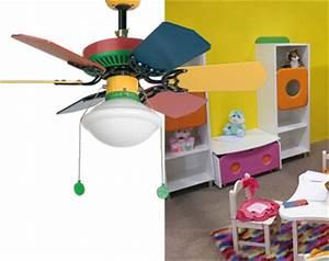 Ventilateur De Plafond Avec Lampe Pour Chambres D39enfants