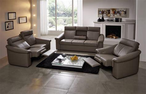 canape 2 places relax electrique canapé relax électrique 3 places johnjohn cuir ou tissu