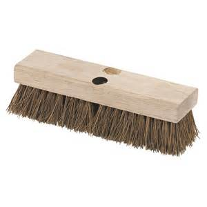 carlisle 10 in palmyra floor deck scrub brush 12 pack 3619200 the home depot