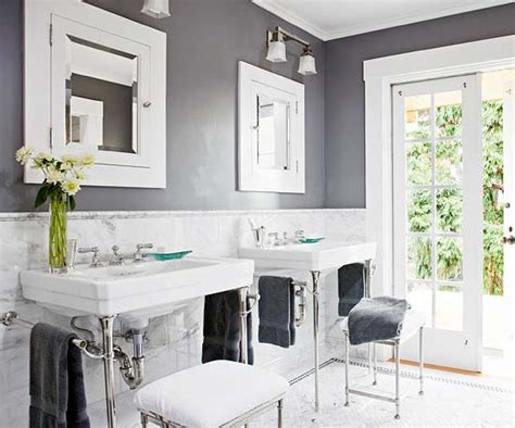 great paint color ideas for black and white bathroom color
