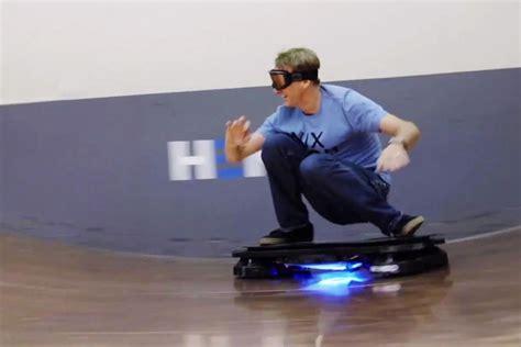 finally  tony hawk ride  real hoverboard