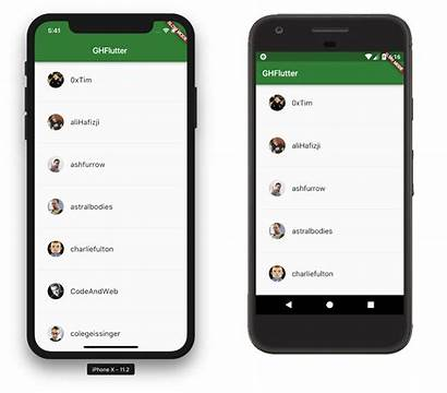 Flutter App Started Getting Android Emulator Ios