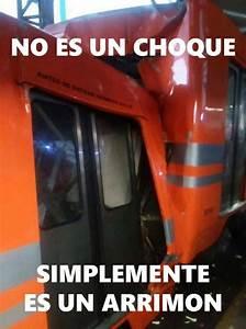 memes choque de trenes metro ía atracción360