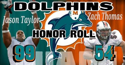 Miami Dolphins Honor Roll