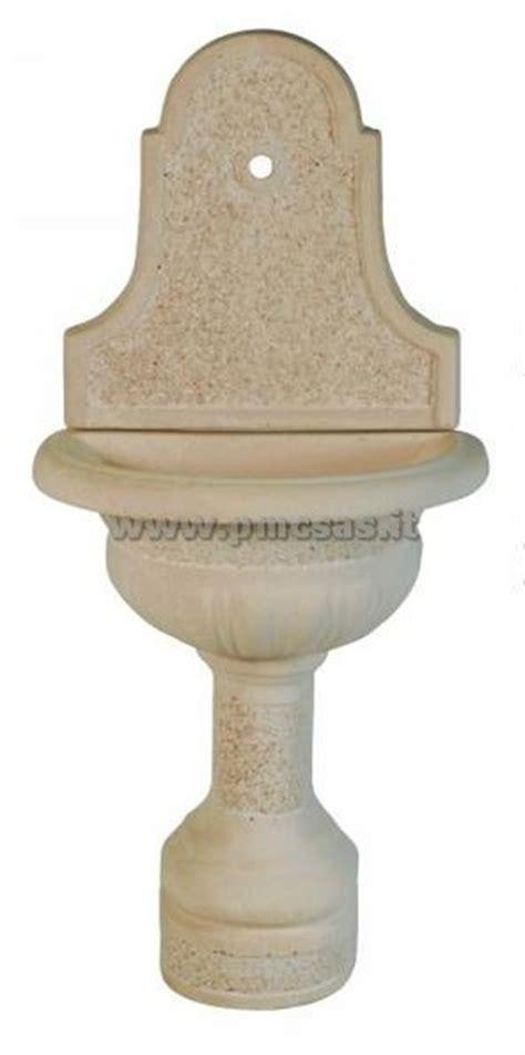 fontane da terrazzo fontane a muro pmc prefabbricati e arredo giardino