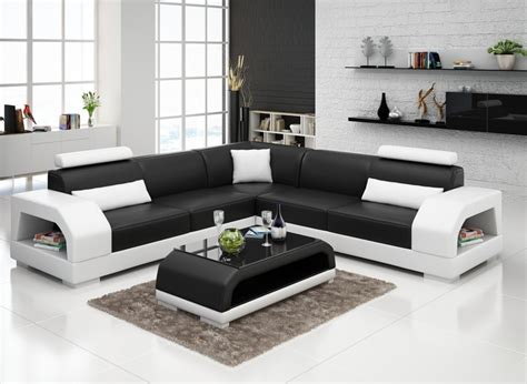 New Design Modern Sectional Living Room Leather Sofa