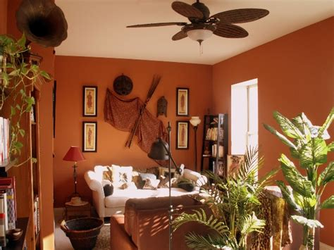 African Living Room Designs : Decorate Your Home In African Style