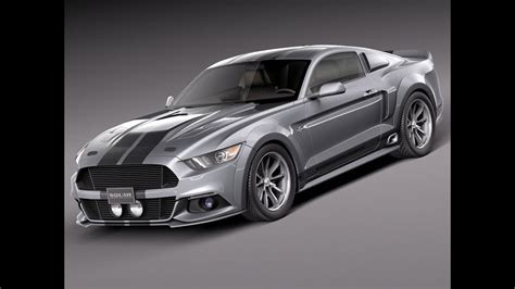 All Mustang Models by 3d Model Ford Mustang Eleanor 2015 At 3dexport