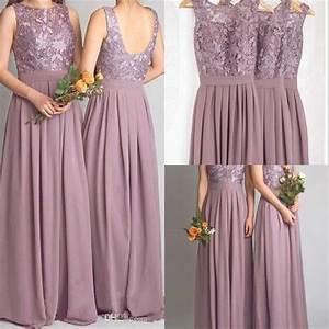 popular mauve bridesmaid dresses buy cheap mauve With mauve wedding dress