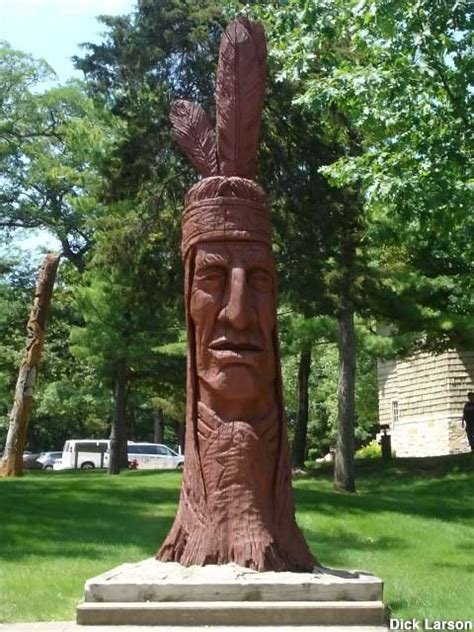 oglesby il peter toth giant indian head