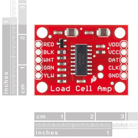 amplificateur pour cellule de force hx robotshop