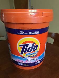 Tide with Downy Laundry Detergent 5 Gallon Bucket for
