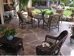 Adding Pavers To Concrete Patio Decorate Patio Decorating Idea