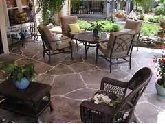 Adding Pavers To Concrete Patio Decorate Patio Decorating Idea