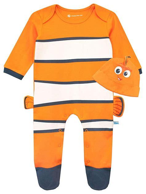 Finding Nemo Sleepsuit and Hat Set | Finding nemo onesie ...