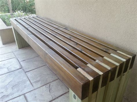 Outdoor Bench by White My New And Amazing Outdoor Bench Diy Projects