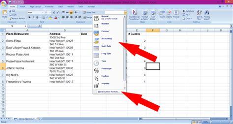 email format exle microsoft excel tutorial number format german pearls