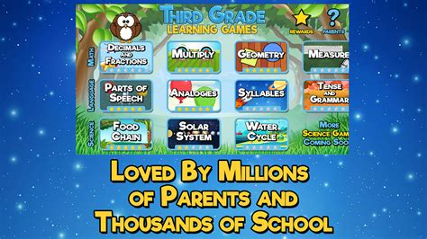 free learning third grade learning free appstore for