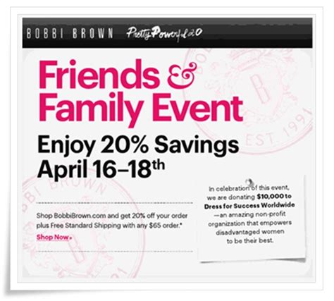 81652 Bbby Coupon by Brown Friends And Family 2012 20 Coupon Code